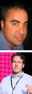Jay Hariani and Nate Nash